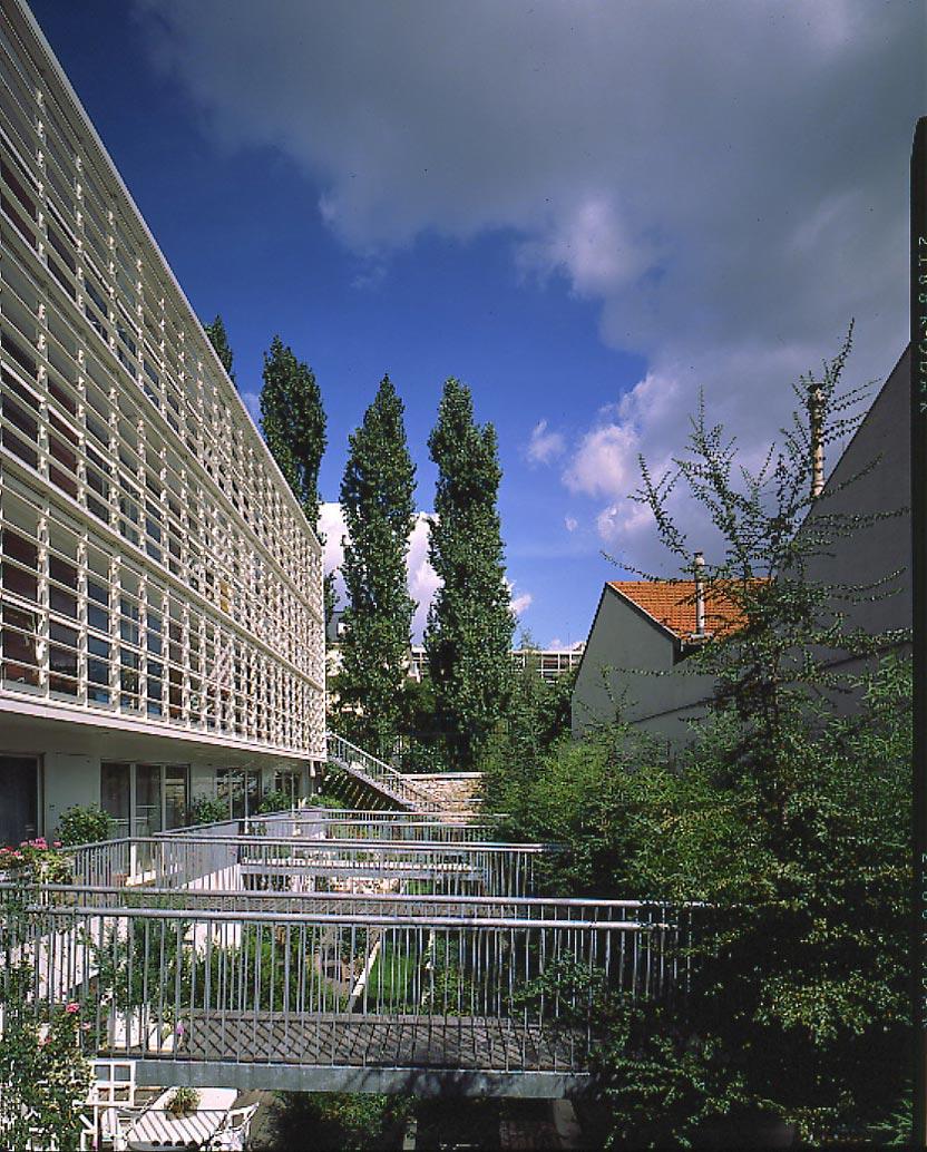 Aaupc patrick chavannes immeuble de 18 logements pli for Projet architecture paris